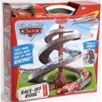 CARS RACE OFF RIDGE