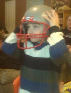 RJ with helmet
