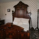 The bedroom where the mother was killed