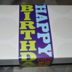 Awesomely wrapped personalised M&M's, Yum!