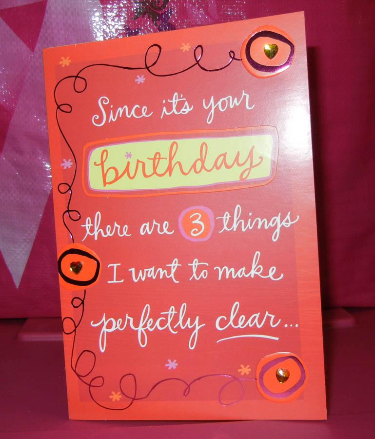 Happy birthday to me romantic birthday card i love it bookmarktalkfo Images