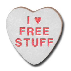 Who doesn't like free stuff?