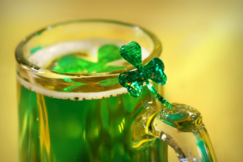 Grab A Green Beer, Make Merry & Be Safe!