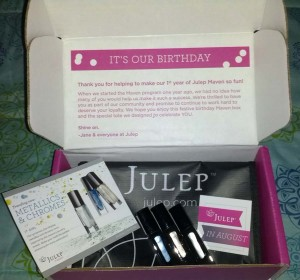Julep Maven August Box