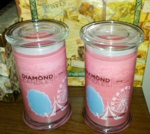 Diamond Candles ~ Carnival Candy
