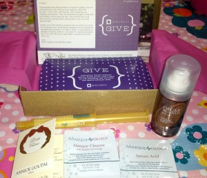 November Birchbox {GIVE} Box 2012