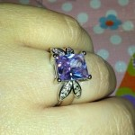 Close up of ring, so pretty, by far my favorite