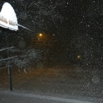 Blizzard with flash