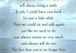 I Miss & Love You Mom