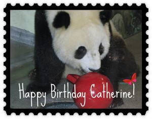 Happy Birthday Catherine