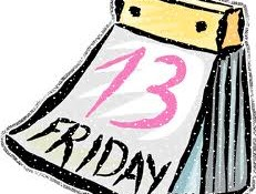 Are You Superstitious? Happy Friday the 13th!