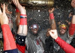 The Boston #RedSox Win The #WorldSeries 2013