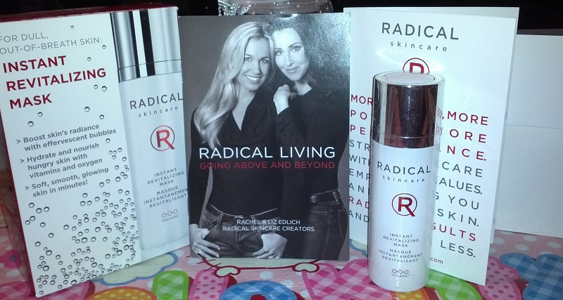 Review: RADICAL Skincare ~ Instant Revitalizing Mask