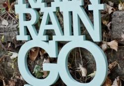 Rain, Rain, Go Away …