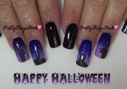 Halloween Mani