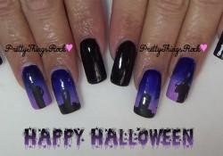 Happy Halloween – Halloween Mani!