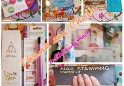 Moyra Stamping Plate Kit – Nail Mail/Prize Mail ~ Thank you Chris Thon!