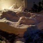 Tons of snow