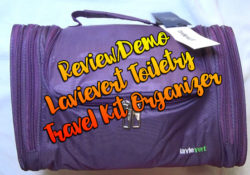 Lavievert Toiletry Travel On The Go Bag!!