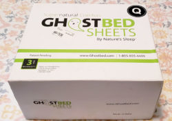 GhostBed Luxury Sheet Set ~ Silky Goodness!